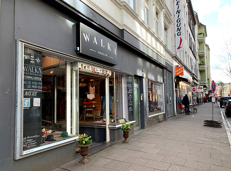 Das Walka in der Ottenser Hauptstraße