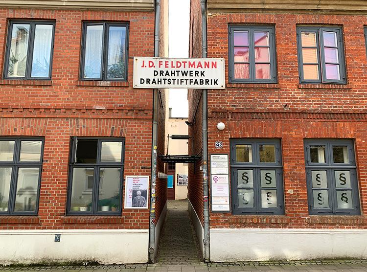 """Drehort aus """"Kurz und schmerzlos"""" an der Zeißstraße"""