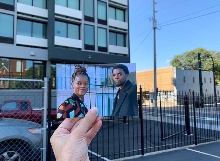 """Black Panther""-Drehort Wheat Street Towers, Atlanta, Georgia"