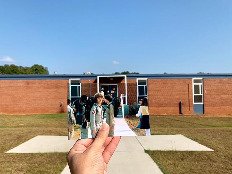 """Stranger Things""-Drehort Hawkins Middle School, Stockbridge, Georgia"
