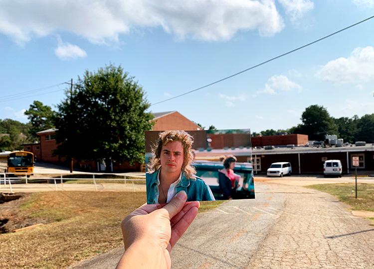 """Stranger Things""-Drehort Hawkins School, Stockbridge, Georgia"