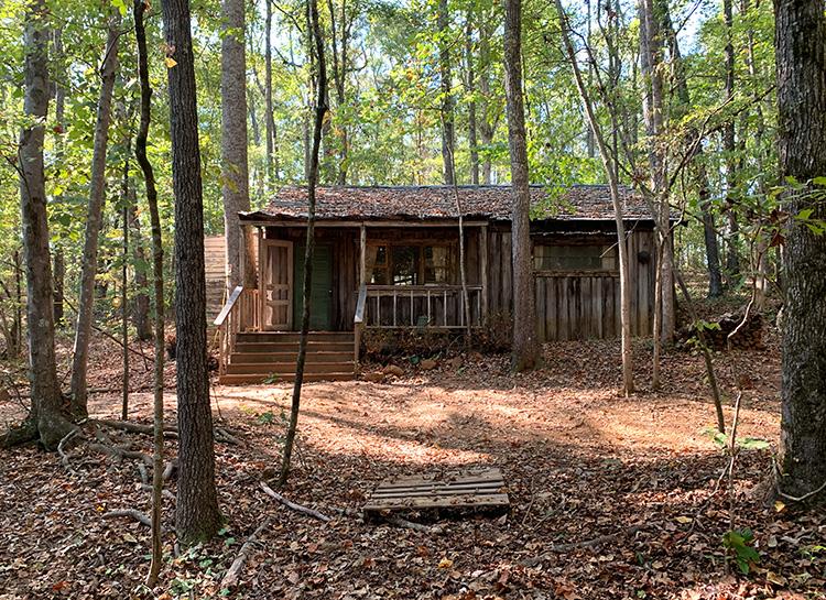 """""""Stranger Things""""-Drehort Hopper's Cabin, Powder Springs, Georgia"""