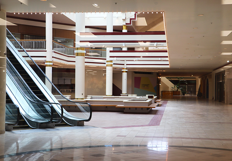 """Stranger Things""-Drehort Starcourt Mall, Duluth, Georgia"