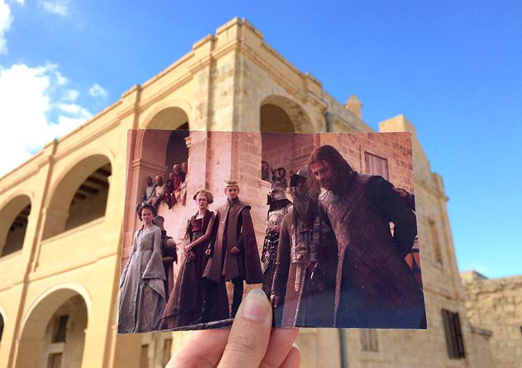 """""""Game of Thrones""""-Drehort, Fort Manoel, Malta"""