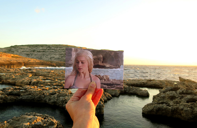 """Game of Thrones"" Drehort Azure Window auf Gozo"