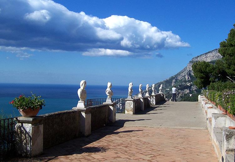 Terrazza dell'Infinito der Villa Cimbrone
