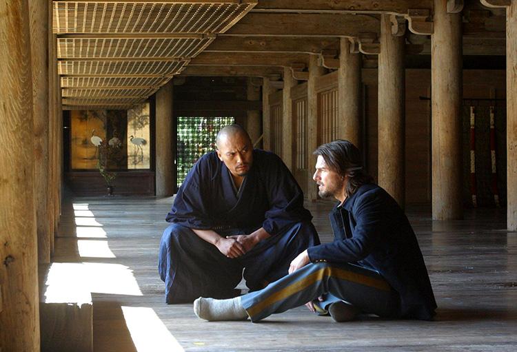 "Filmszene aus ""Last Samurai"" am Engyō-ji Tempel, Himeji, Japan"