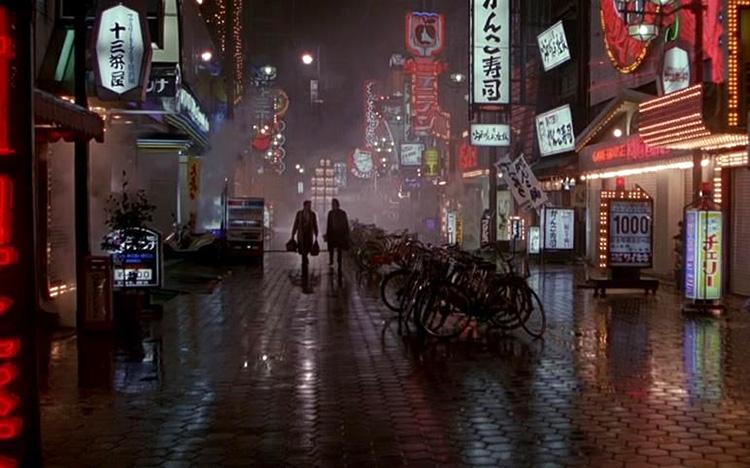 "Filmszene aus ""Black Rain"" in Dotonbori, Osaka, Japan"