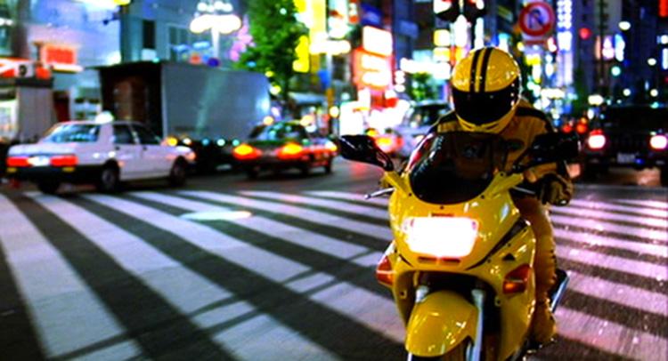 """Filmszene aus """"Kill Bill"""" in Tokio"""