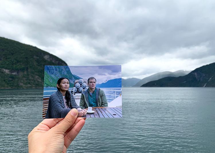 """""""Downsizing""""-Drehort Trollfjord, Lofoten, Norwegen"""