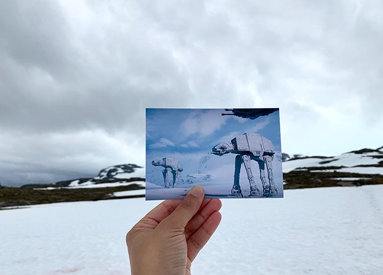 """Star Wars""-Drehort, Finse, Norwegen"
