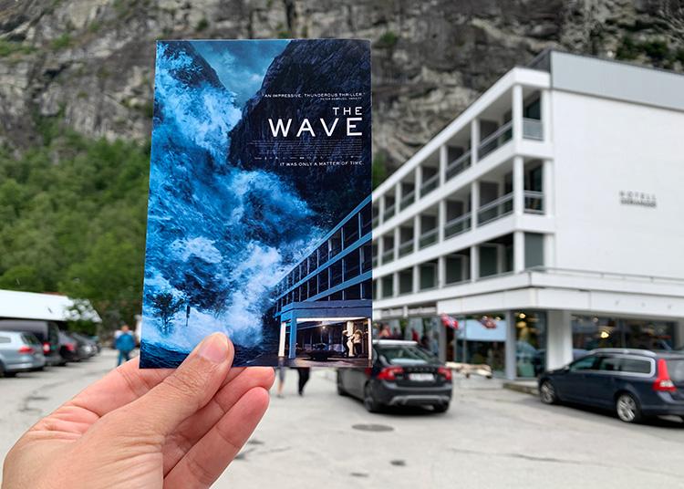 """The Wave""-Drehort Hotel Geiranger, Norwege"
