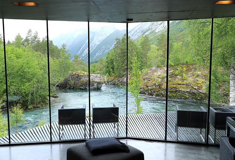Juvet Hotel, Valldal, Norwegen