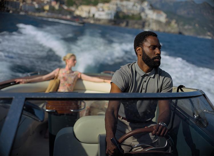 "Szene aus ""Tenet"" vor der Amalfiküste, Italien"