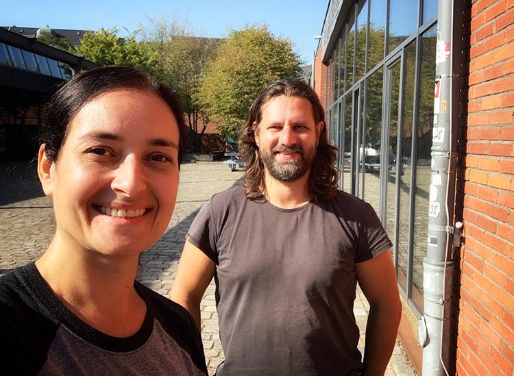 Interview mit Adam Bousdoukos in Hamburg