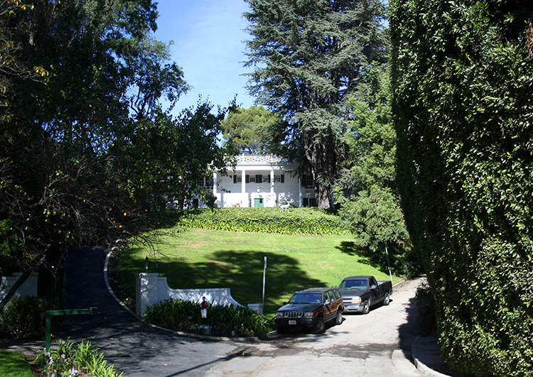 Das falsche Fresh Prince House in Bel Air, Los Angeles