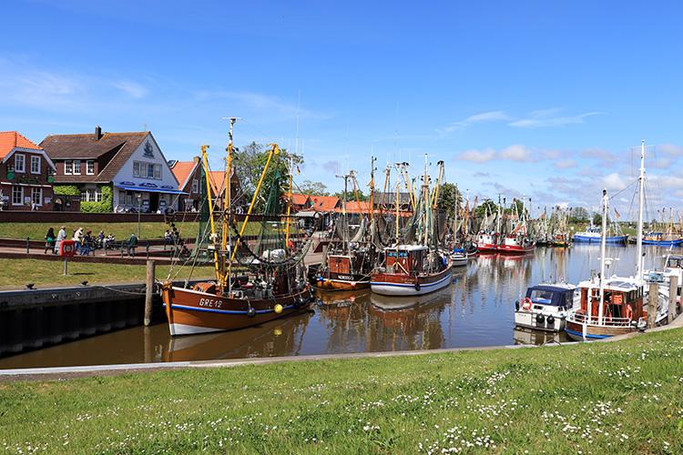 Hafen in Greetsiel, Krummhörn-Greetsiel