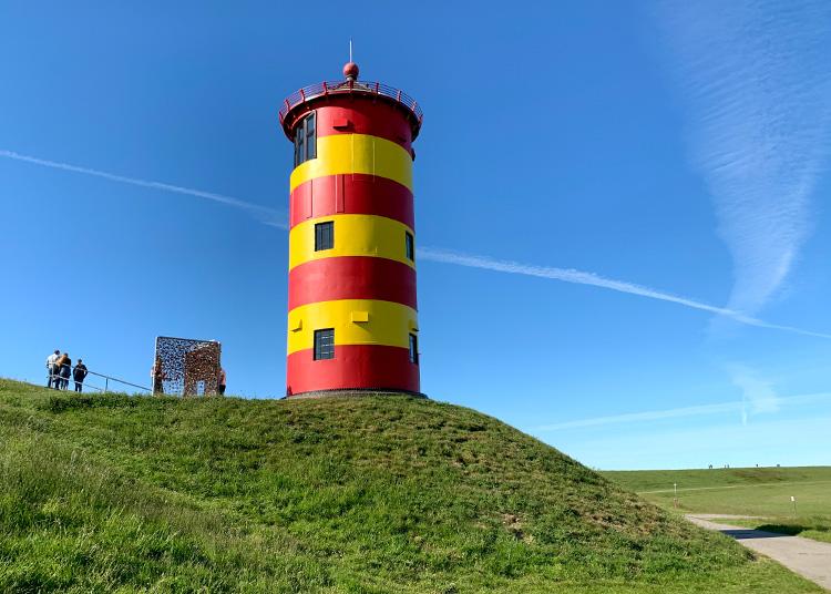"""Drehort aus """"Otto - Der Außerfriesische"""", Pilsumer Leuchtturm, Krummhörn-Greetsiel"""