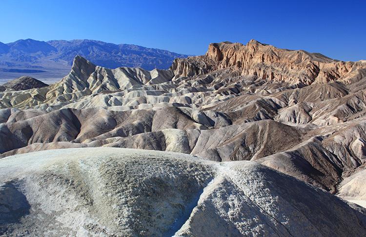 Zabriskie Point, Death Valley National Park, Kalifornien