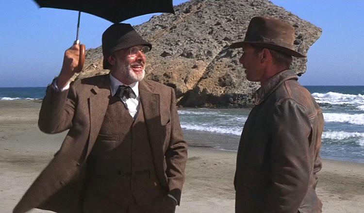 """Szene aus """"Indiana Jones und der letzte Kreuzzug"""" am Cabo de Gata"""
