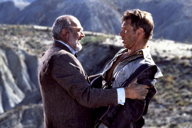 """Szene aus """"Indiana Jones und der letzte Kreuzzug"""" in Tabernas"""