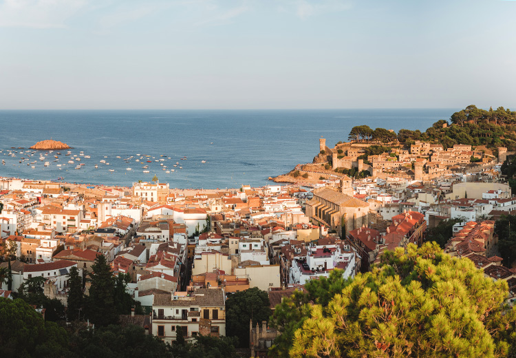 Tossa de Mar, Katalonien