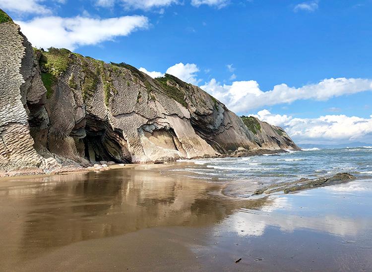 Playa de Itzurun, Zumaia, Baskenland