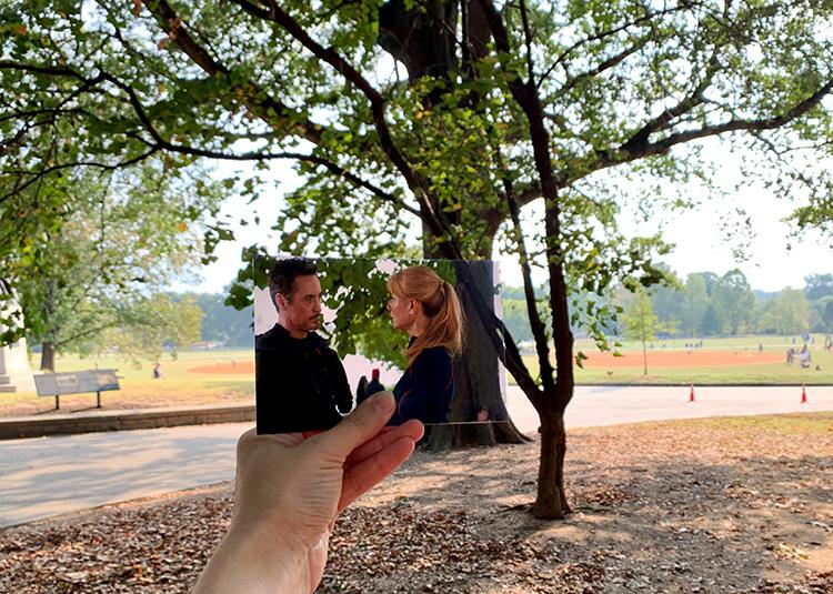 """Infinity War""-Drehort Piedmont Park, Atlanta, Georgia"