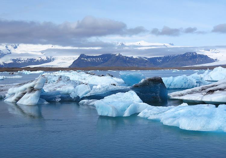 Vatnajökull Gletscher, Island