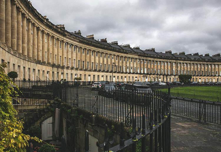 No.1 Royal Crescent, Bath, England