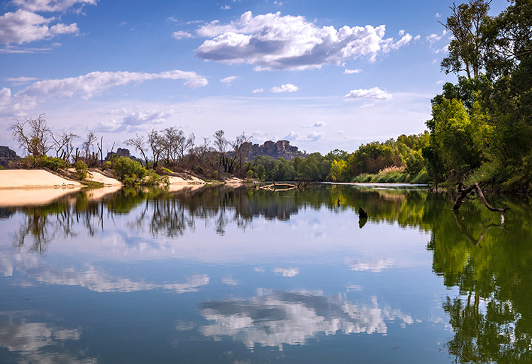 East Alligator River, Kakadu National Park, Northern Territory, Australien
