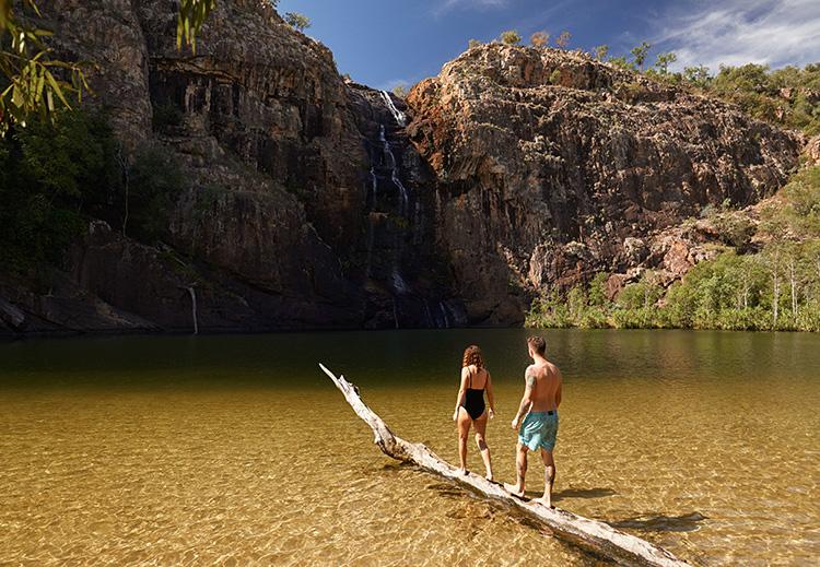 Gunlom Falls, Kakadu National Park, Northern Territory, Australien