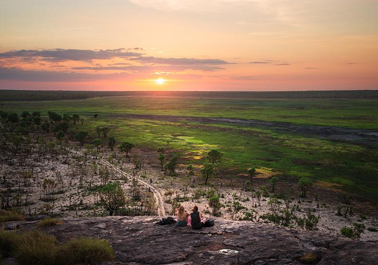 Blick über die Wetlands im Kakadu National Park, Northern Territory, Australien