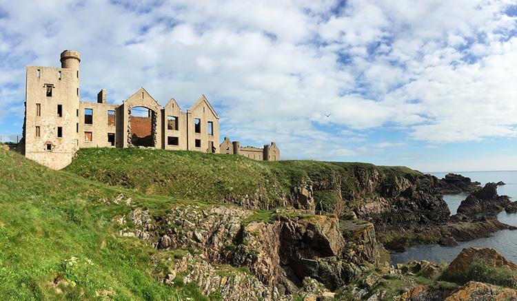Slains Castle, Schottland