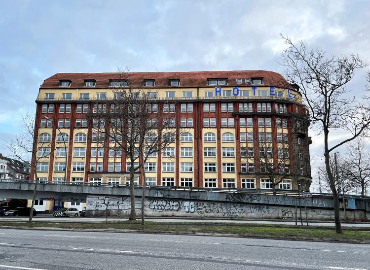 a&o Hostel Hamburg Hauptbahnhof in der Amsinckstraße, Hamburg