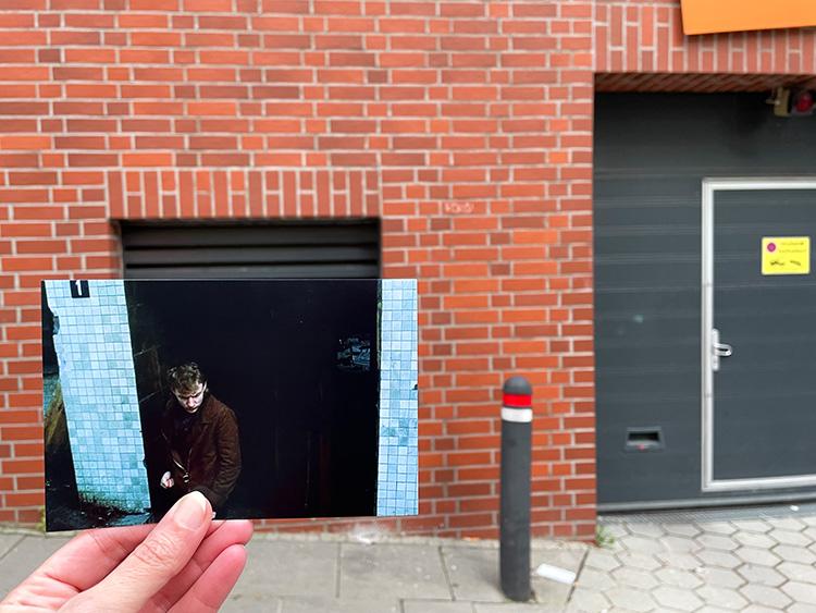 """Filmszene aus """"Supermarkt"""" im Münzviertel, Hamburg"""