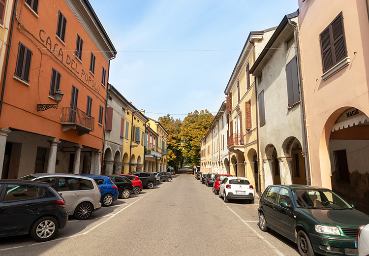 Casa del Popolo, Brescello, Italien