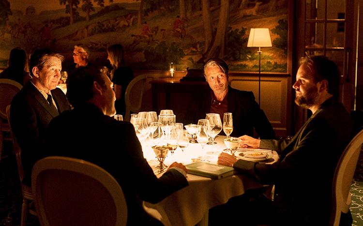 """Filmszene aus """"Der Rausch"""" im Hotel & Restaurant Fortunen"""