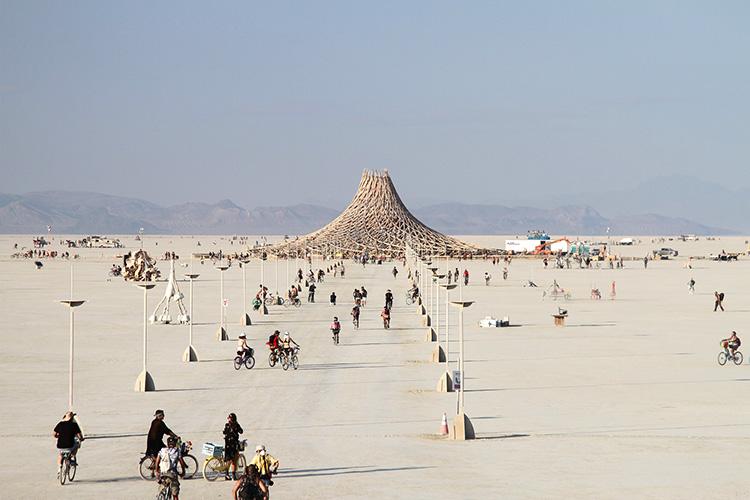Burning Man Festival, Black Rock Desert, Nevada