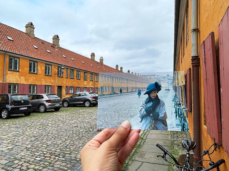 """Szene aus """"The Danish Girl"""" in Nyboder, Kopenhagen"""