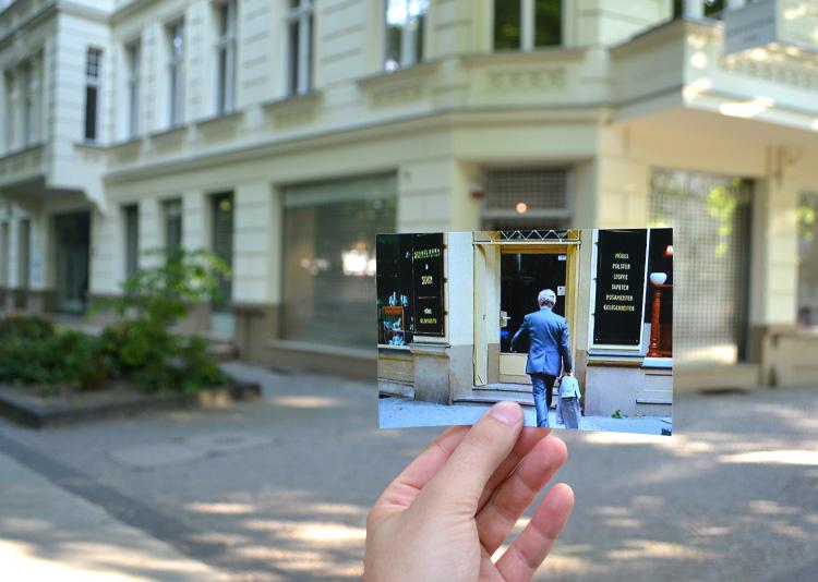 """Drehort aus """"Ödipussi"""" in der Meierottostraße, Berlin"""
