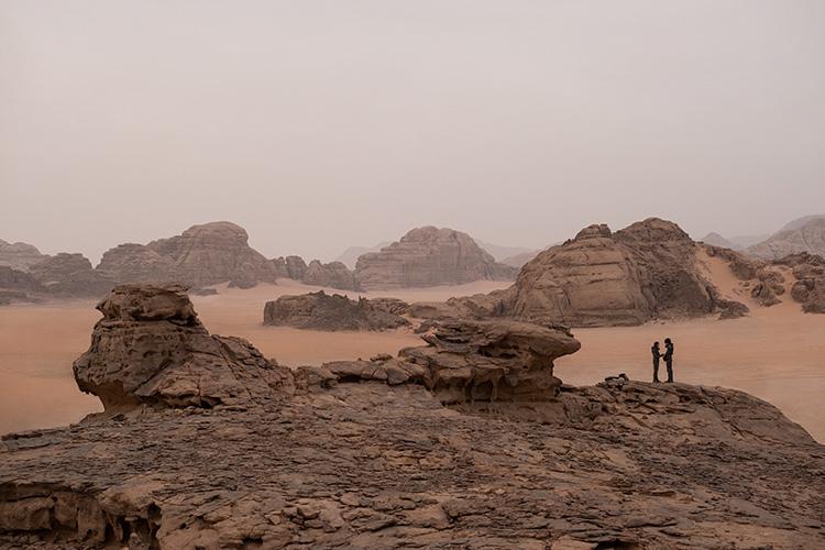 """Filmszene aus """"Dune"""" in Jordanien"""