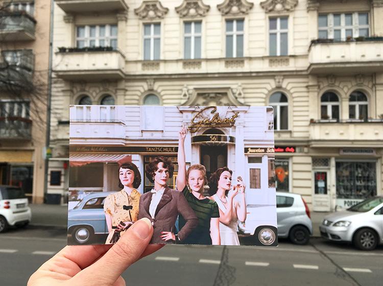 Ku'damm-Drehort in der Richard-Wagner-Straße, Berlin